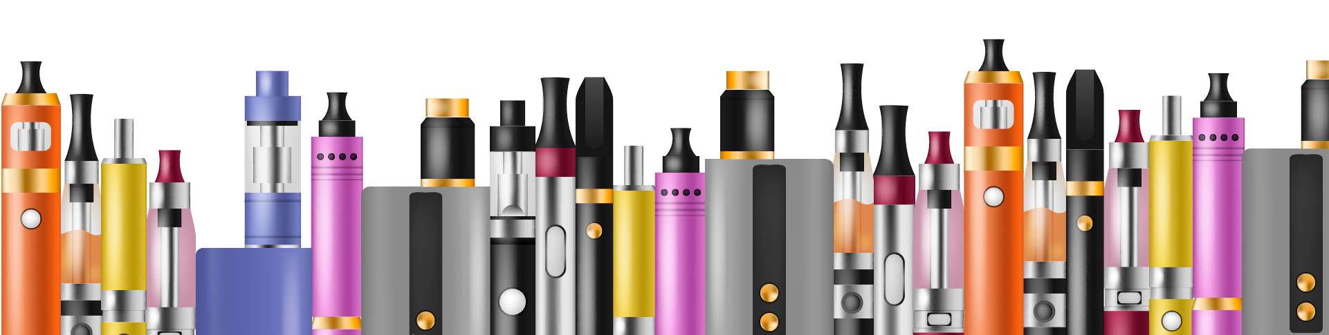 The e-cigarette in all its magnificence